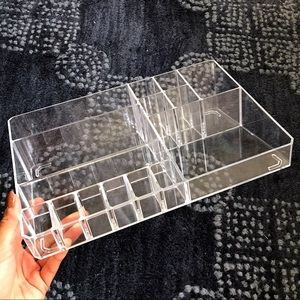 💎 MAKEUP/COSMETIC CLEAR TRAY ORGANIZER!